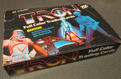 Its empty, but this Tron trading card box was too cool to pass up for $6. It will look awesome on display in the game room.