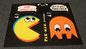 Clearly this predates Ms. Pac-Man, and is kinda creepy.