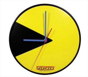 pac-man-clock